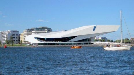 The Netherlands Film Institute in Amsterdam North