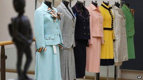 Margaret Thatcher's suits for sale at Christie's on 3 September 2012