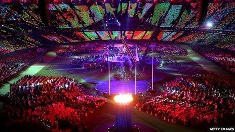 Y Stadiwm Olympaidd