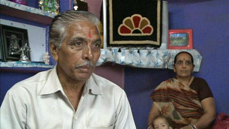 Ramadhar Shrivastav and family