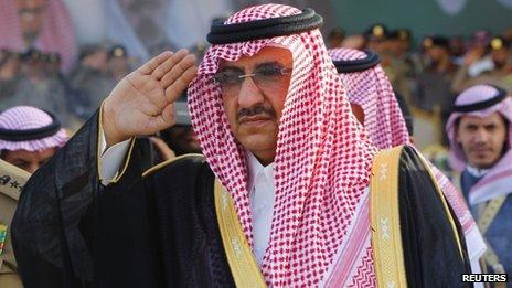 Prince Mohammed bin Nayef (file photo)