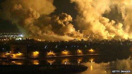 Shock and awe in Baghdad