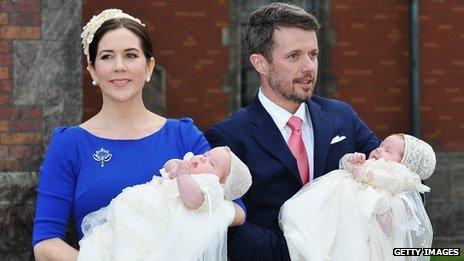 Danish royal twins