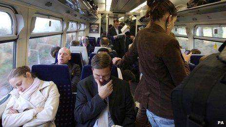 Train overcrowding