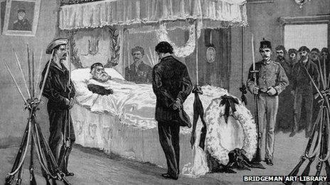 Funeral of Garibaldi