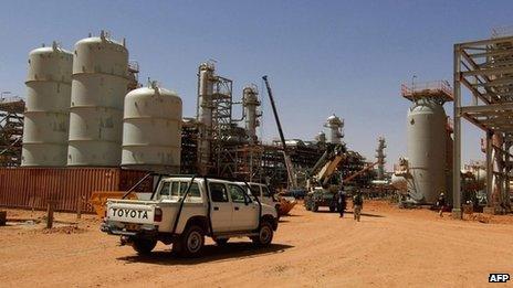 In Amenas gas facility (file picture)