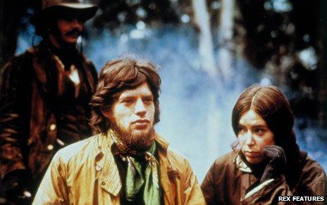 Mick Jagger as Ned Kelly in 1970