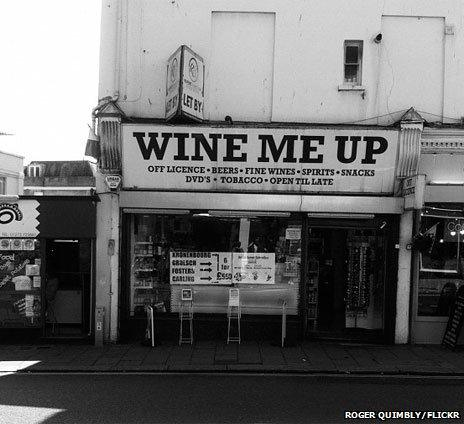 Wine Me Up (photo courtesy of Roger Quimbly/Flickr)