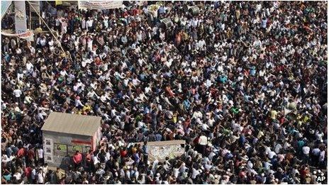 Jamaat-e-Islami protest in Dhaka (5 Feb 2013)