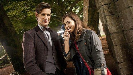scene from Doctor Who