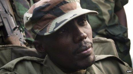 Col Sultani Makenga photographed in July 2012
