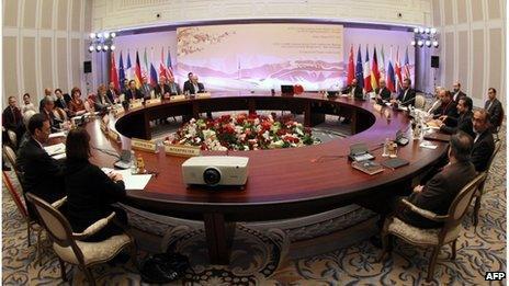Iran and P5+1 meet in Almaty (26/02/13)