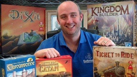 Steve Buckmaster, Esdevium Games