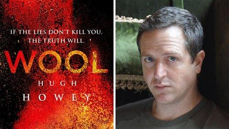 Wool book cover and author Hugh Howey