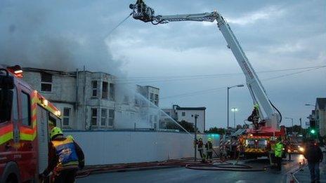 Newquay fire