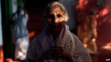 Widow in Vrindavan
