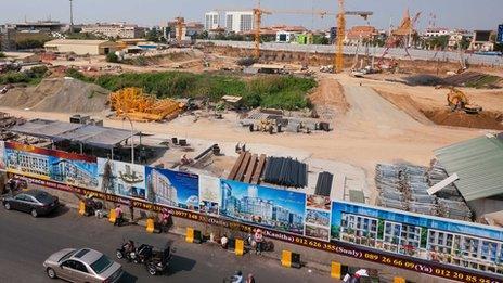 Phnom Penh construction