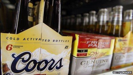 US bottled beer