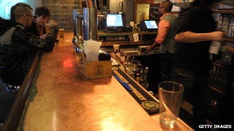 Bar in Williamsburg, Brooklyn
