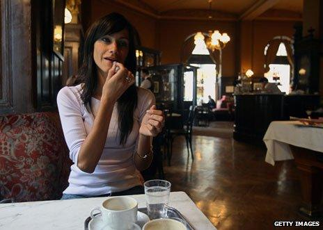 Cafe Sperl in Vienna, Austria