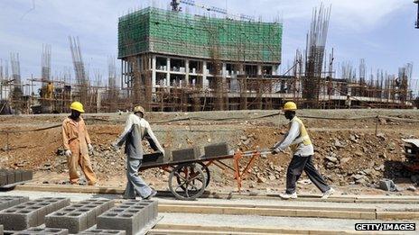 Ethiopian workers