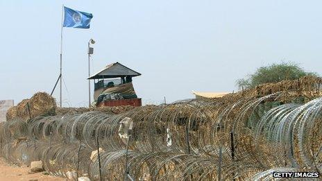 UN position in Abyei (17 April 2011)