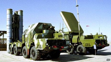 S-300 Surface to Air missile system