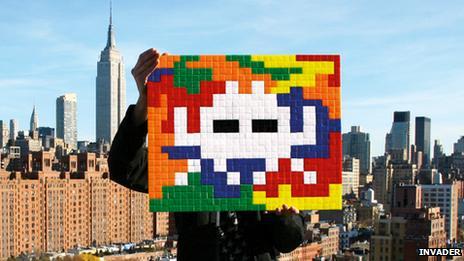 Invader in New York
