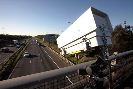Motorway CCTV camera