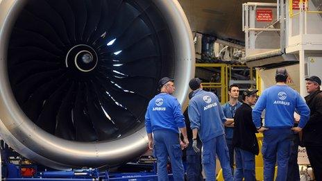 Rolls-Royce engine for the A350
