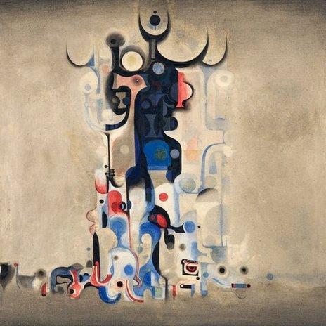 Ibrahim el Salahi painting