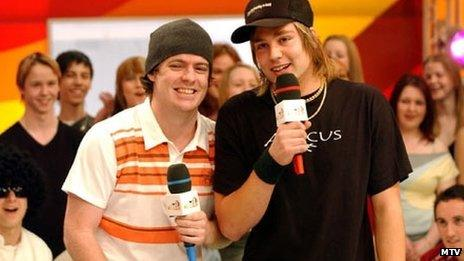 Silibil N Brains on MTV in 2004