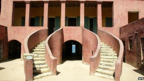 The House of Slave on Goree Island
