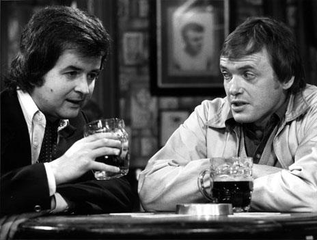 The likely lads - Rodney Bewes and James Bolam