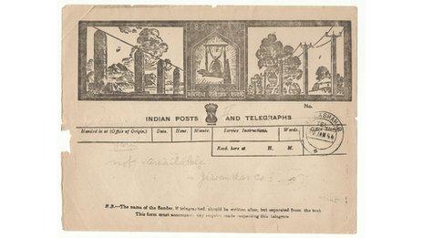 Old telegram