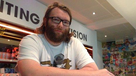 Games developer AJ Grand Scrutton