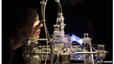 3D printer, Wellcome Collection