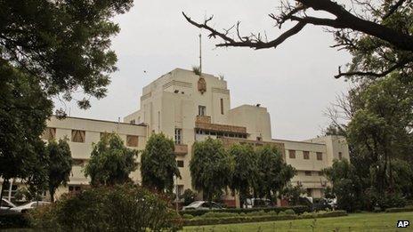 The Faridkot estate is seen in New Delhi, India, Monday, July 29, 2013.