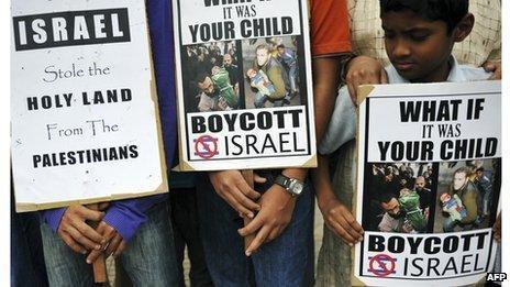 Muslims in Bangalore marking Jerusalem Day