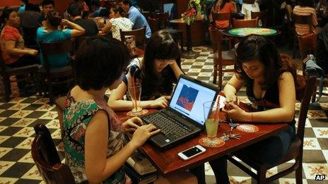 Vietnamese internet users