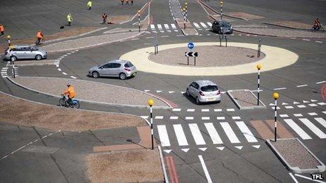 A 'Dutch-style' roundabout