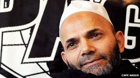 Pagad leader Abdus Salaam Ebrahim
