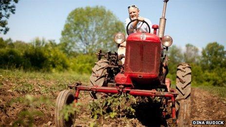 Farmer Erik Jacobs