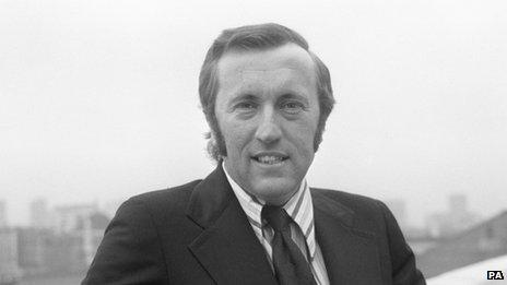 Sir David Frost in 1973