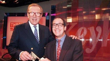 Sir David Frost and Loyd Grossman