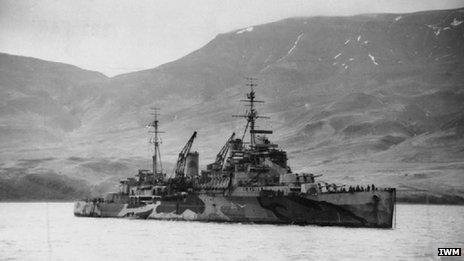 HMS Trinidad: Imperial War Museum