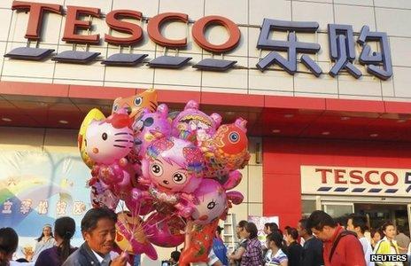 Tesco in China