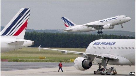 Air France planes
