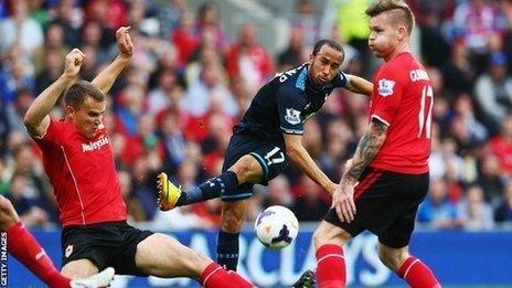 Caerdydd 0 - 1 Tottenham