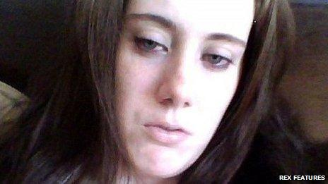 Self-portrait of Samantha Lewthwaite found on laptop by police